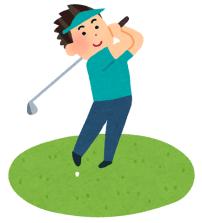 ゴルフ男性2